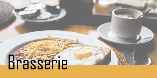 Retrouvez vos plats de Brasserie.