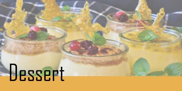 Retrouvez votre sélection de dessert