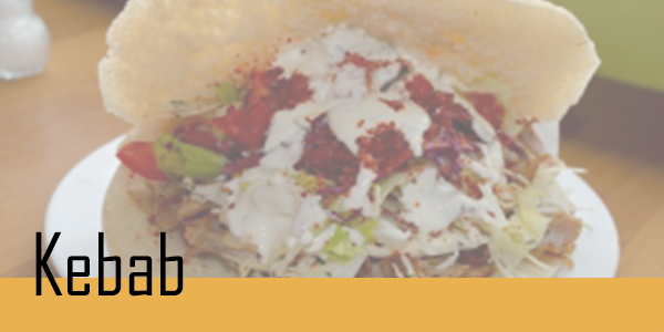 Retrouvez votre sélection de kebab