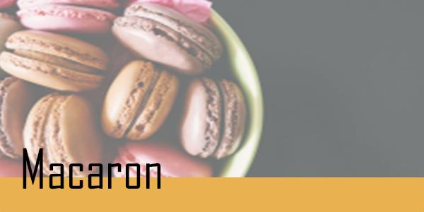 Retrouvez votre sélection de macarons