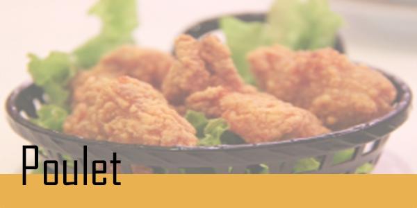 Retrouvez votre sélection de poulet