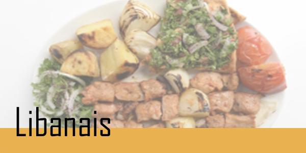 Retrouvez vos plats Libanais