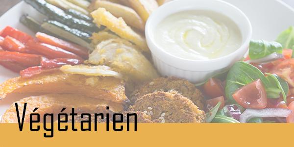 Découvrez les restaurants végétarien