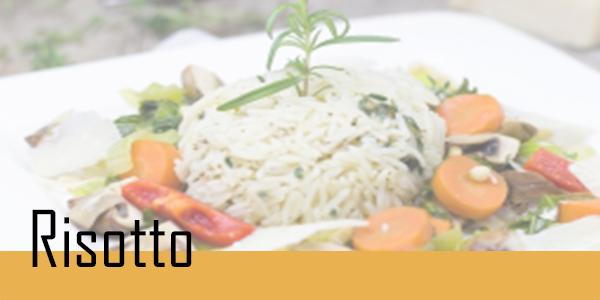Retrouvez votre sélection de risotto