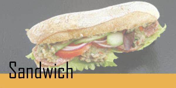Retrouvez votre sélection de sandwich