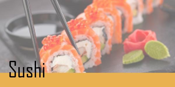 Retrouvez votre sélection de sushi